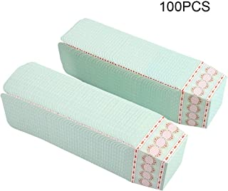AUNMAS 100PCS Mini Cupcake Liners Baking Cups Muffin Cases Dessert Holder Birthday Cupcake Wrappers Cupcake Packaging for Home Party Wedding (2#)