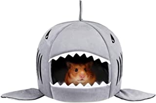 Tfwadmx Hamster Bed Small Pet Animals Habitat House Warm Hamster Cave Hideout Cotton Nest for Guinea Pig Hamster Hedgehog ...