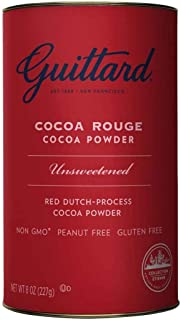 E Guittard Cocoa Rouge Cocoa Powder 8 Oz (Pack of 6)
