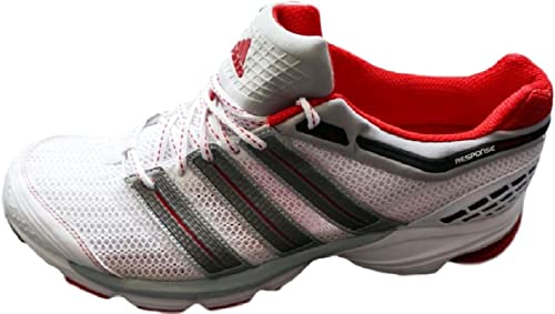 Adidas Response Cusion 20 M, Weiß rot, Gr.19   55,5 - 19