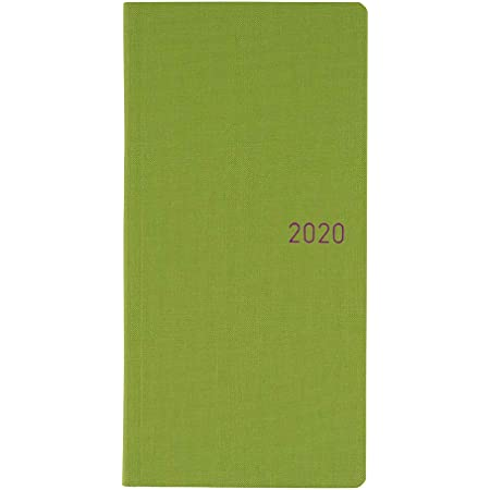 ほぼ日手帳 2020 weeks カラーズ/グリーンアップル4月始まり ウィークリー