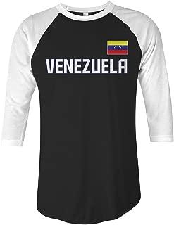 Venezuela National Pride Unisex Raglan T-Shirt