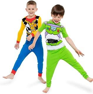Disney Toy Story 男童纯棉睡衣套装 4 件套