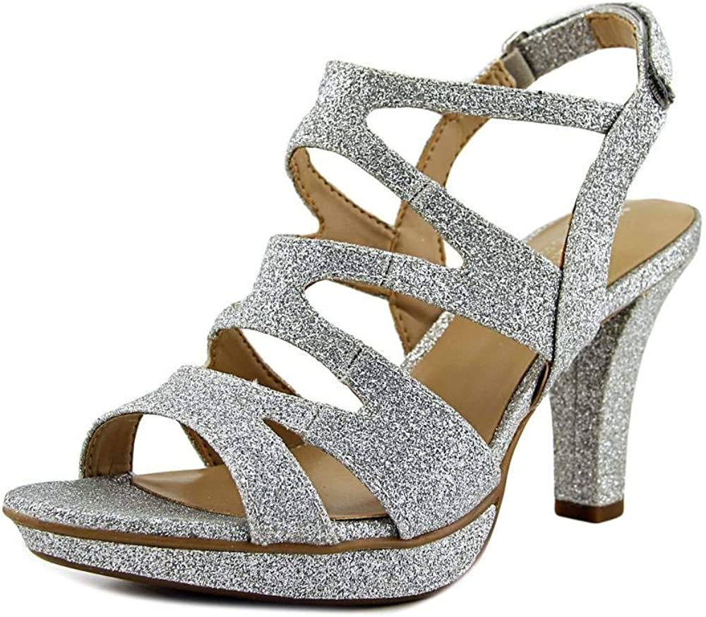 Naturalizer Dianna Silver Glitter M Synthetic Max 46% OFF Online limited product B 8