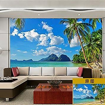 Lzhenjiang Pegatinas De Pared Tela De Seda Paisaje Paisaje Pintar Paredes Con Gran Salón Tv Pintura Mural De Papel Para Pared Amazon Es Bricolaje Y Herramientas