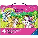 Ravensburger 07284 - Filly Butterflies - 2 x 64/2 x 81 pieces Jigsaw Cases