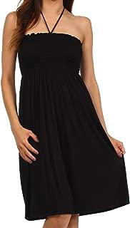 Everyday Essentials String Halter Dress