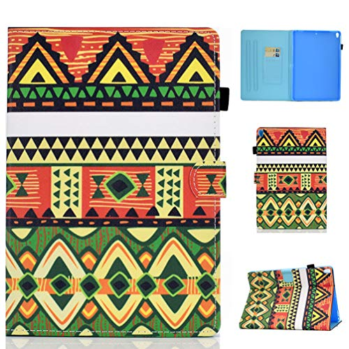 Vogu'SaNa Compatible for Tablet Case iPad Air 2019/iPad Pro 10.5 2017 Case PU Leather Flip Cover Sleep Wake Cover Stand Card Slots Magnetic Cover Shell