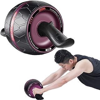 Buikoefenroller, Fitness Ab Roller Automatische Rebound Buikwiel, Verwijderbare Mute, Multi Hoek Core Training, Thuis Gym ...