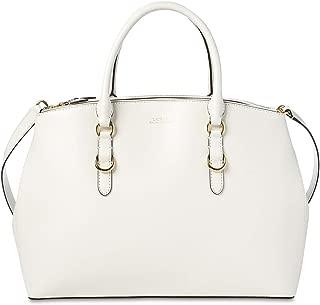 ralph lauren white leather purse
