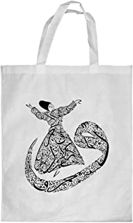 Arabic letters Printed Shopping bag, Large Size