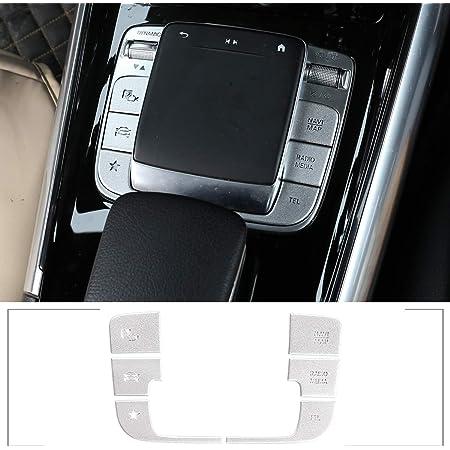 Abs Chrom Auto Innenraum Mittelarmlehne Box Schalter Rahmen Abdeckung Verkleidung 3 Stück Für Benz B Glb Klasse W247 X247 2019 2020 Zubehör Auto