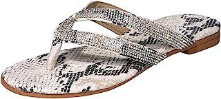 Geilisungren Sandalen Damen High Heels Sandaletten Strass Elegante Pumps Glitzer Hausschuhe Strandschuhe Slipper Sandals A...