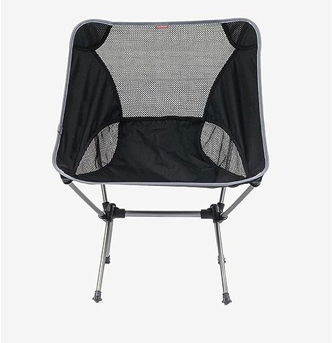 Moolo Chaise Pliante Ultralégère portative en Plein air Chaise de Pêche Tabouret Fauteuil Chaise de Plage