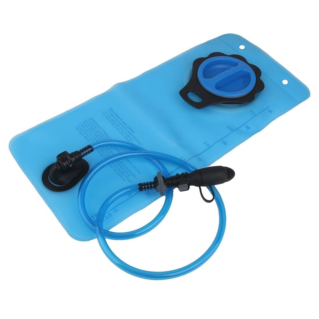 リズミカルな接続詞起こるBaoblaze 3L運動水袋 水バッグ サイクリング キャンプ ハイキング用 耐久性 長持ち