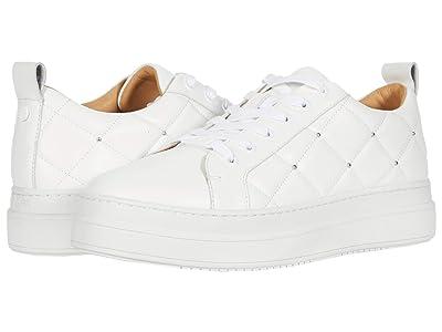 J/Slides Noreen (White Leather) Women