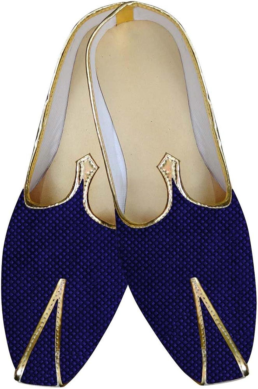 INMONARCH Herren Marine Blau Brutigam Schuhe Gelegentliche MJ015063