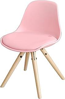SoBuy FST46-P Chaise Enfant Fauteuil Confortable en Bouleau pour enfant avec assise rembourrée haute qualité- Rose