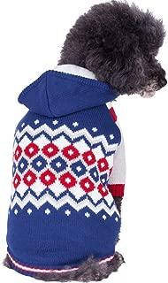 Blueberry Pet 5 Patterns Fall & Winter Chic Dog Sweater