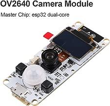 MakerHawk ESP32 Camera Module T-Camera ESP32 WROVER PSRAM Camera Module 4MBytes SPRAM ESP32-WROVER-B OV2640 Camera Module with 0.96 Inch OLED-Fish-Eye Lens