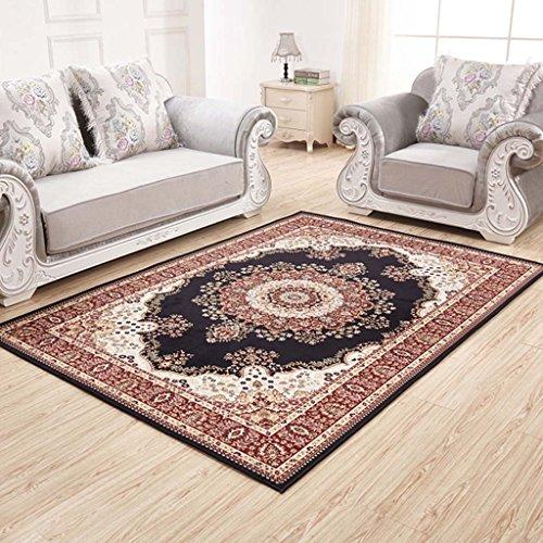 Creative Light Tapis Modernes Canapé Table Basse Salon Carpet Chambre Rectangle de Chevet Maison Mats (Taille : 80cm*126cm)
