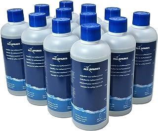 Détartrant liquide compatible avec Delonghi Original EcoDecalk DLSC500 / AEG (12 x 500 ml) pour machine à café de AllSpares