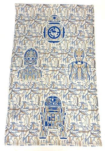 Galaxy's Edge Star Wars Droid Depot R2-D2 BB-8 C-3PO K-2SO Dish Kitchen Towel Set