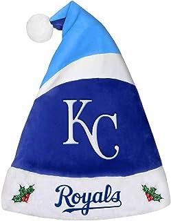 FOCO Forever Collectibles 9016345508 Kansas City Royals Basic Santa Santa - 2016