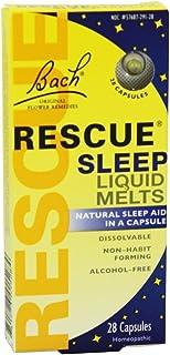 Bach Rescue Sleep Liquid Melts, Dissolvable Capsules 28 ea ( Pack of 6 )