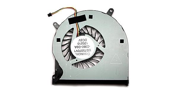 Power4Laptops DELL XPS L521X Ventilador para Ordenadores port/átiles