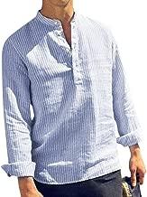 Cathalem Womens Long Sleeve Cotton Linen Blouses Top T-Shirt Cartoon Printed Pullover M-5XL