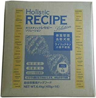 ホリスティックレセピー チキンライト 6.4kg