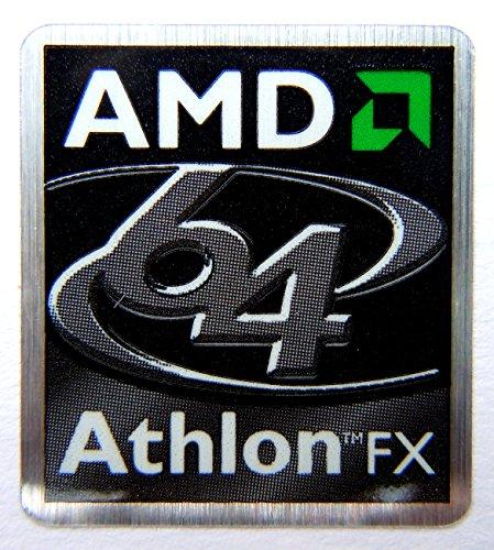 Original AMD Athlon 64 FX Sticker 23 x 25mm [335]