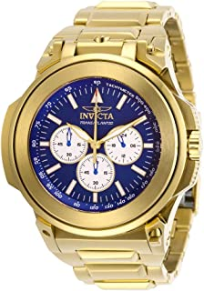 Invicta Men's Reserve Quartz Watch with Stainless Steel Strap, Gold, 25 (Model: 28581)