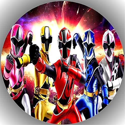 Premium Esspapier Tortenaufleger Tortenbild Geburtstag Power Rangers T3