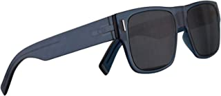 c1d56a56b76 Christian Dior Homme DiorFraction4 Sunglasses Blue w Blue Mirror Shaded Gold  Lens 54mm PJPA9 Fraction