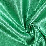 Polyestersatin 15 grasgrün — Meterware ab 0,5m — zum