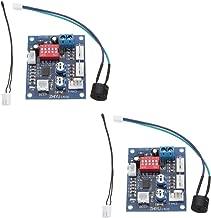 Comidox 2PCS DC 12V 4 Wire PWM PC CPU Fan Temperature Control Speed Controller Module CPU High-Temp Alarm