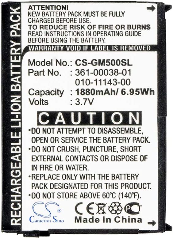 1880mAh 361-00038-01 010-11143-00 Max 90% OFF NEW before selling Battery for 5 Replacement Nuvi