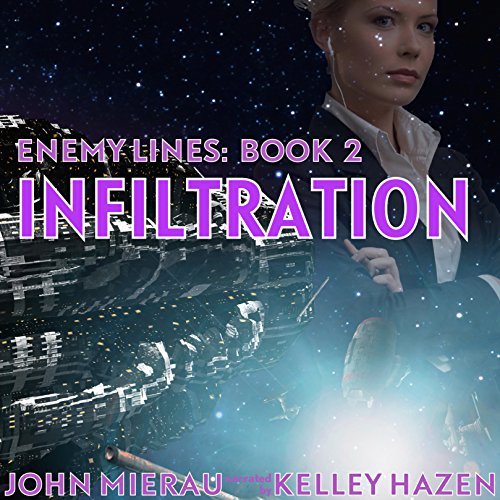 Infiltration     Enemy Lines, Book 2              By:                                                                                                                                 John Mierau                               Narrated by:                                                                                                                                 Kelley Hazen                      Length: 5 hrs and 25 mins     7 ratings     Overall 4.7