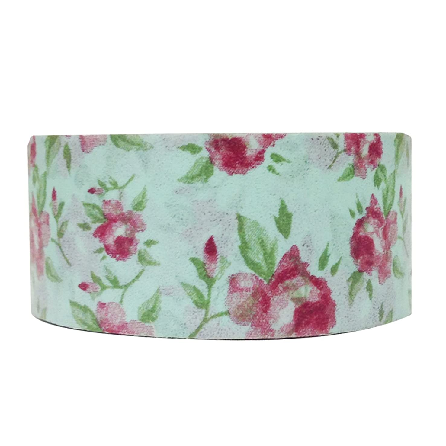 Allydrew Floral & Nature Washi Masking Tape, Country Rose
