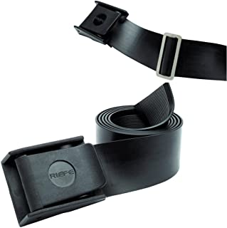 Riffe Rubber Weight Belt with Buckle for Freediving and Spearfishing