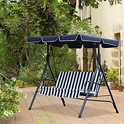 Outsunny-3-Seater-Canopy-Swing-Chair-Heavy-Duty-Outdoor-Garden-Bench-with-Sun-Cover-Metal-Frame-Blue-White