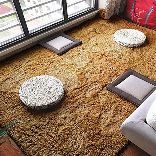 Super Weiche Shaggy Area Teppiche,Flauschige Zurück Lammfellimitat Teppiche Boden Teppich Für Schlafzimmer Wohnzimmer Kinderzimmer Dekor-Khat Farbe 200x250cm