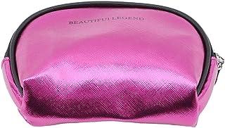 Underleaf 3pcs / setコスメティックバッグストライププリントメイクアップバッグトラベルオーガナイザートイレットバッグ女性のための透明メイクケース