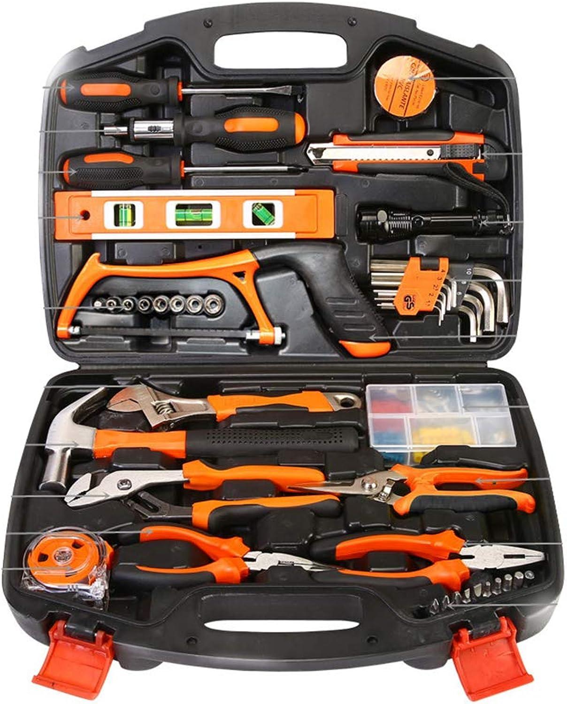 Hauptwerkzeug-Kit, allgemeiner Haushalts-Werkzeugsatz, Werkzeugkasten gewidmet Arbeitsrettungsfahrzeugwerkzeuge Autoreparatur Mini-Werkzeugzange Mini-Werkzeugzange Mini-Werkzeugzange Schraubendreher-Satz, 106 Teile B07KN3LSX9   Realistisch  1e0016