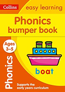Phonics Bumper Book Ages 3-5: Ideal for Home Learning