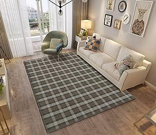 Outlander Fraser Tartan Area Rugs Non-Slip Floor Mat Doormats Home Runner Rug Carpet for Bedroom Indoor Outdoor Kids Play Mat Nursery Throw Rugs Yoga Mat