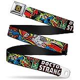 Buckle-Down Seatbelt Belt - Classic DOCTOR STRANGE Comic Book Title/4-Poses - 1.0