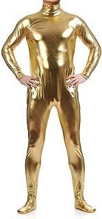 WOLF UNITARD Long Sleeve Shiny Metallic Zentai Bodysuit